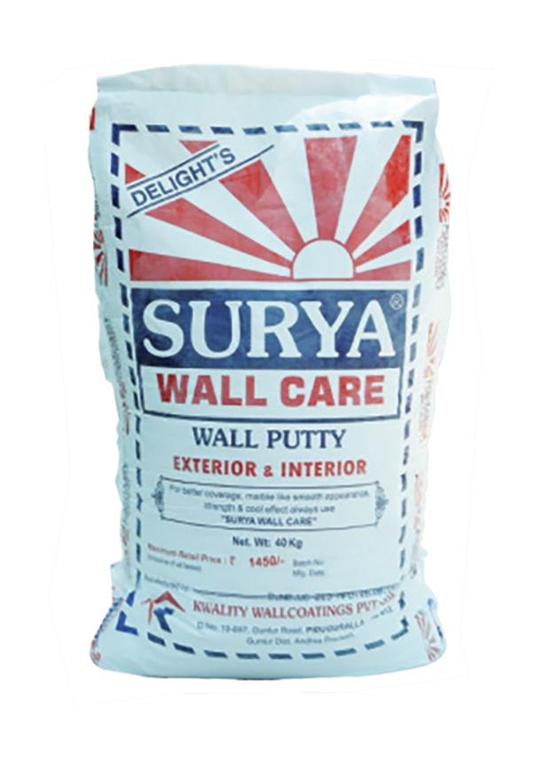 Surya Wall Care 40Kg