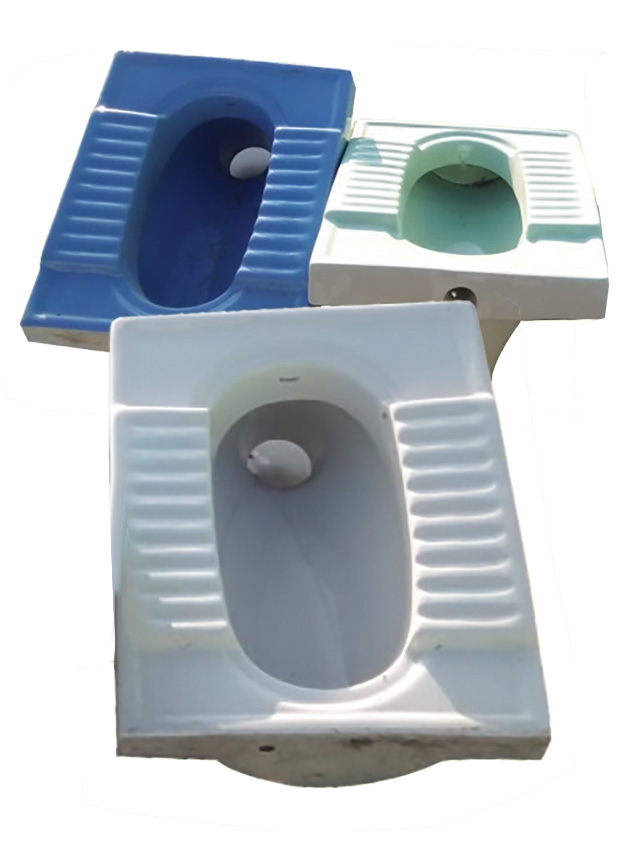 Eagle Sanitary Wares Orisssa Pan All Colours