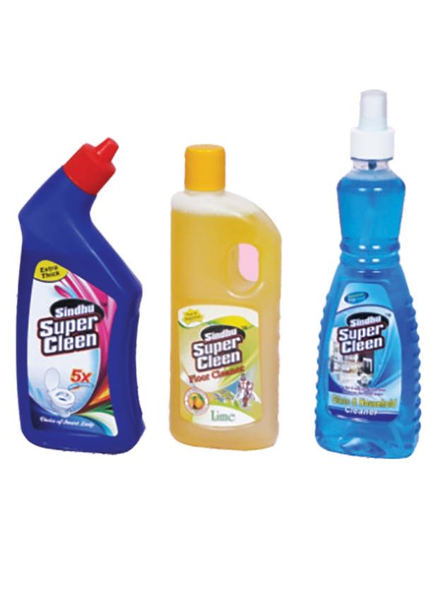 Super Glass Cleaner, Super Floor Cleaner Super Toilet Cleaner