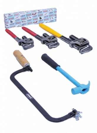 Singh Tools Pipe Wrenches, Hammer,